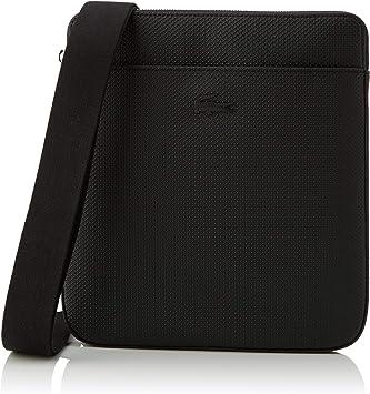 Lacoste Chantaco, Bolso bandolera para Hombre, Negro (Black), 2x27x24 centimeters (W x H x L): Amazon.es: Zapatos y complementos