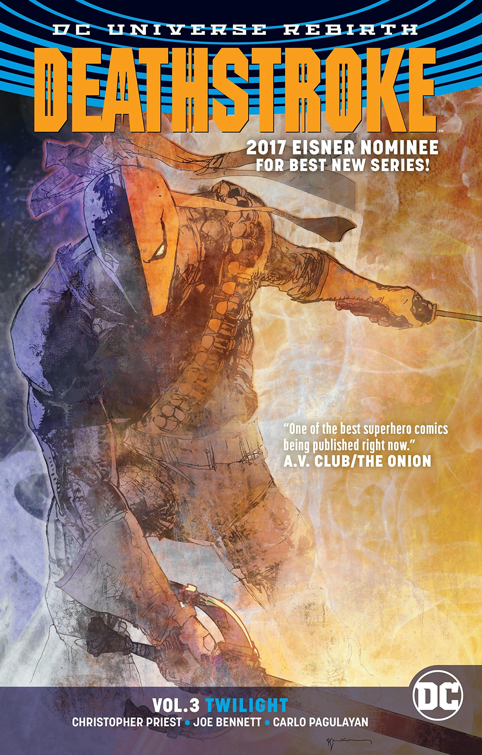 DEATHSTROKE VOLUME 3 TWILIGHT GRAPHIC NOVEL Paperback Collects 12-18 2016