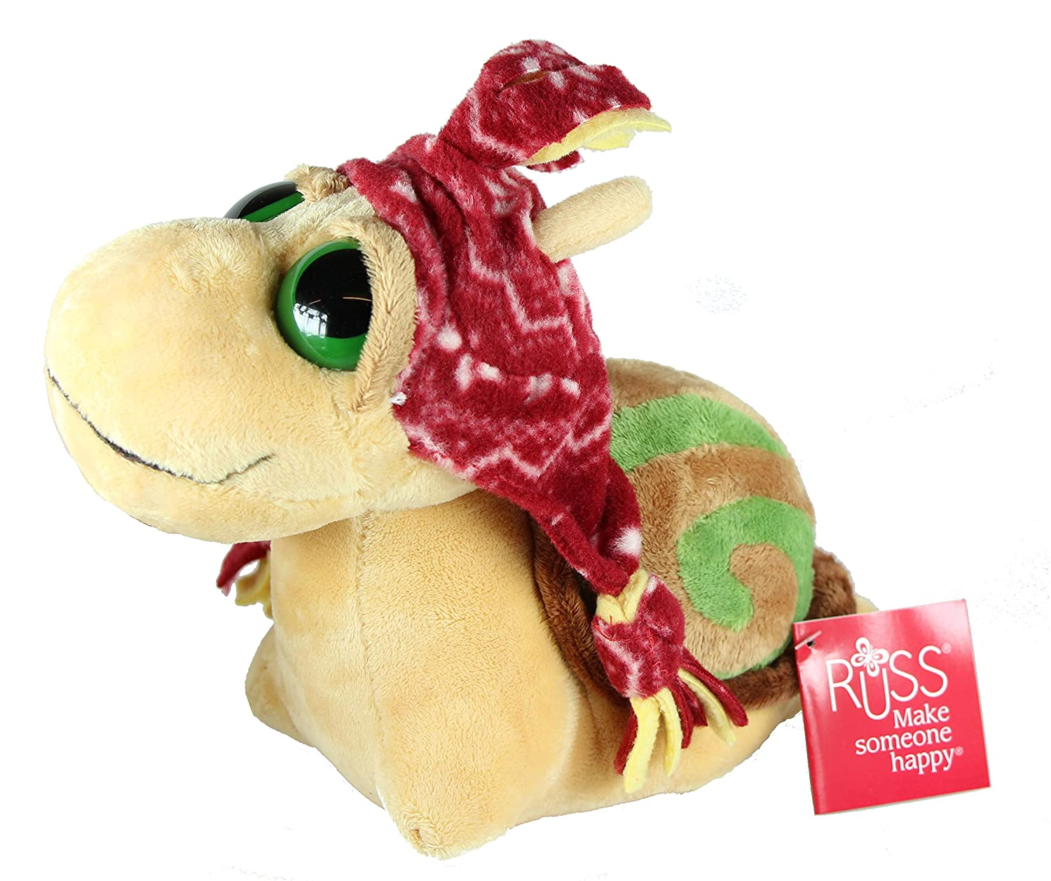 Russ Berrie Slow the Snail 10 Inch Super Soft Plush Toy