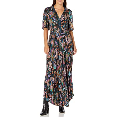 3J WORKSHOP Women's Floral Printed Maxi Dress at Amazon Women's Clothing store
