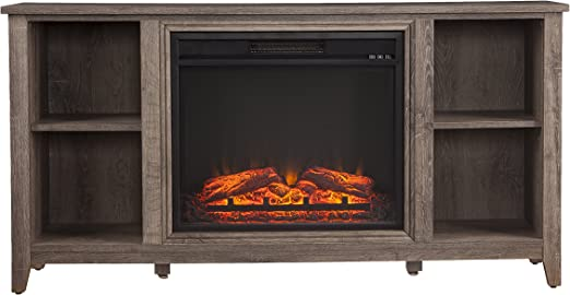 Amazon Com Furniture Hotspot Electric Fireplace Tv Stand W
