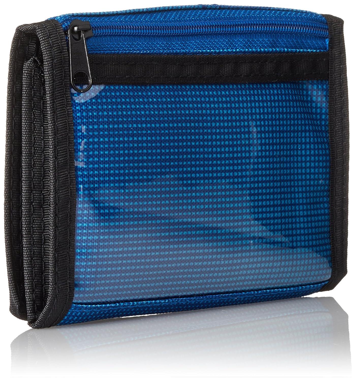 Nitro Porte-Feuille avec Fenêtre et Pochette pour la Monnaie, Mixte, Geldbeutel Wallet, Fragments Blue, 1 x 14 x 10 cm, 0.14 Liter