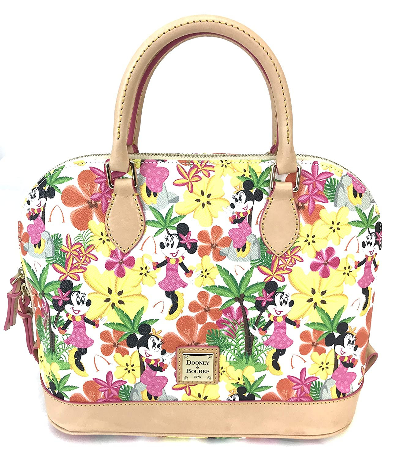 Amazon.com: Disney Dooney & Bourke Aulani Floral Minnie In ...