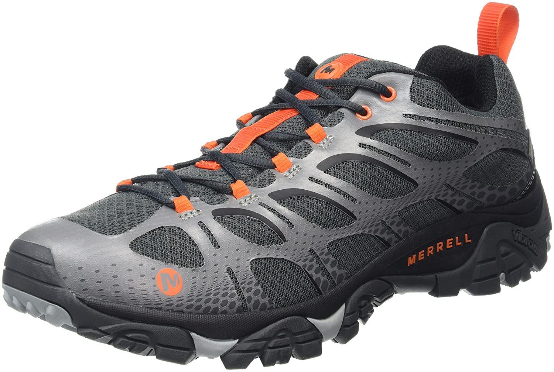 Merrell Mens Moab Edge Waterproof Low Rise Hiking Shoes