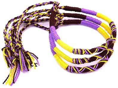 Lot De 3 Bracelet Brésilien Amitié Coton Friendship Coton Macramé
