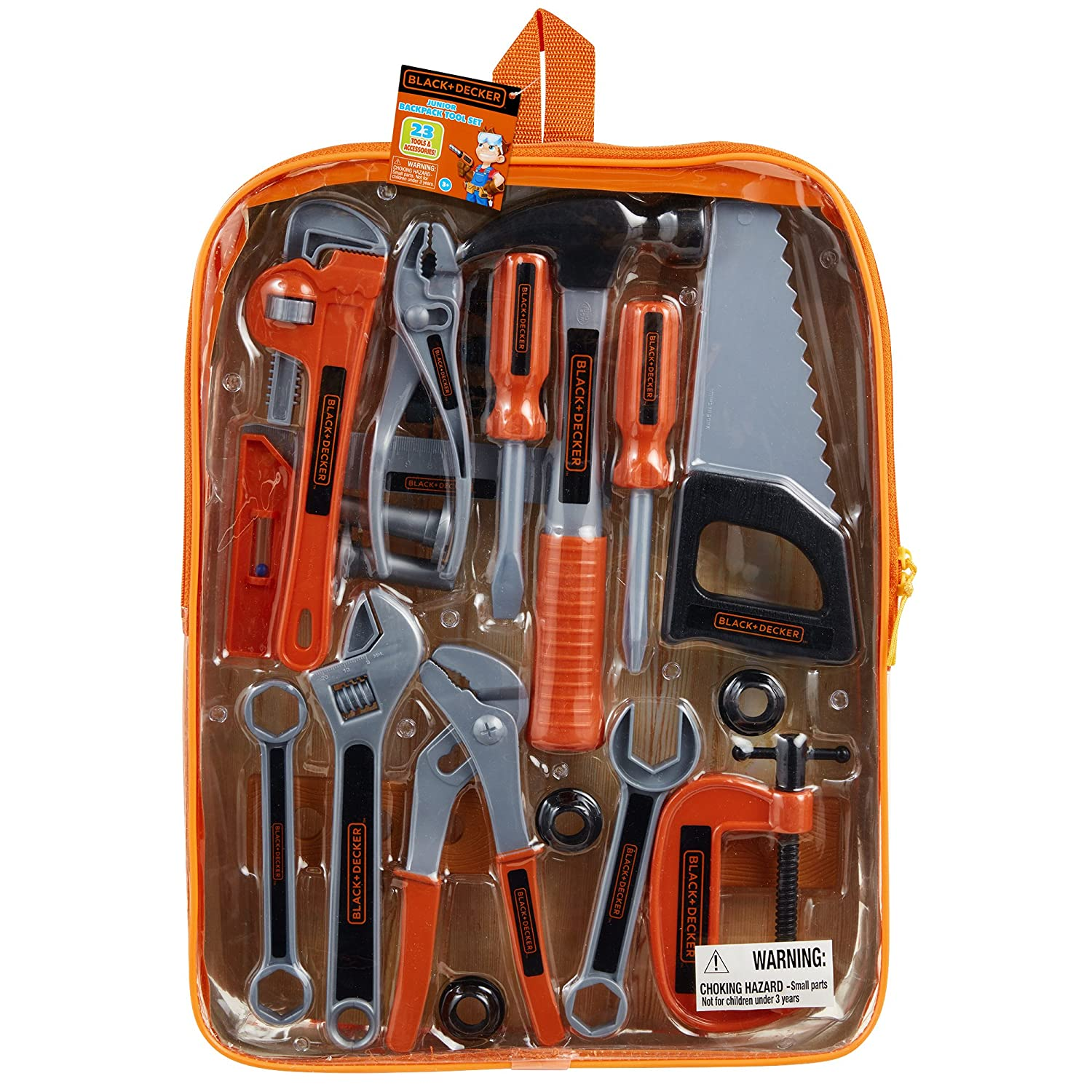 Black & Decker Jr. 23 Piece Backpack Set