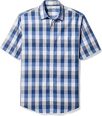 Amazon Essentials Hombre camisa de manga corta de algodón