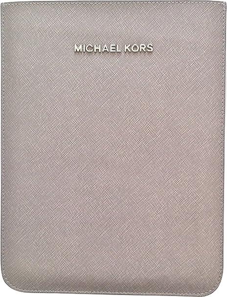 många stilar billigt för rabatt bra utseende Michael Kors Michael Sleeve for iPad Mini, Pearl Gray: Amazon.co ...