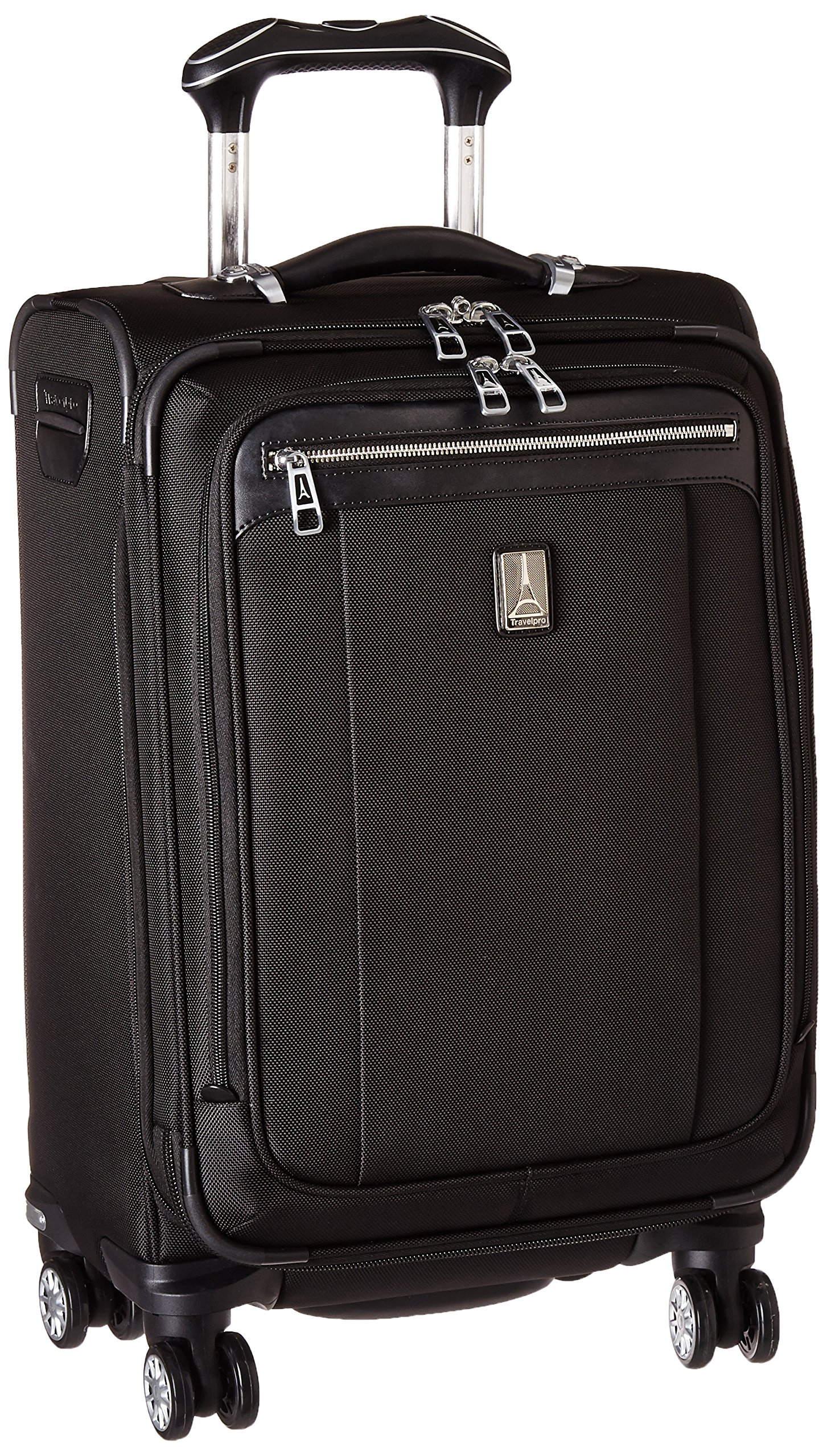 "Travelpro Platinum Magna 2  20"" Expandable Business Plus Spinner, Black by Travelpro"