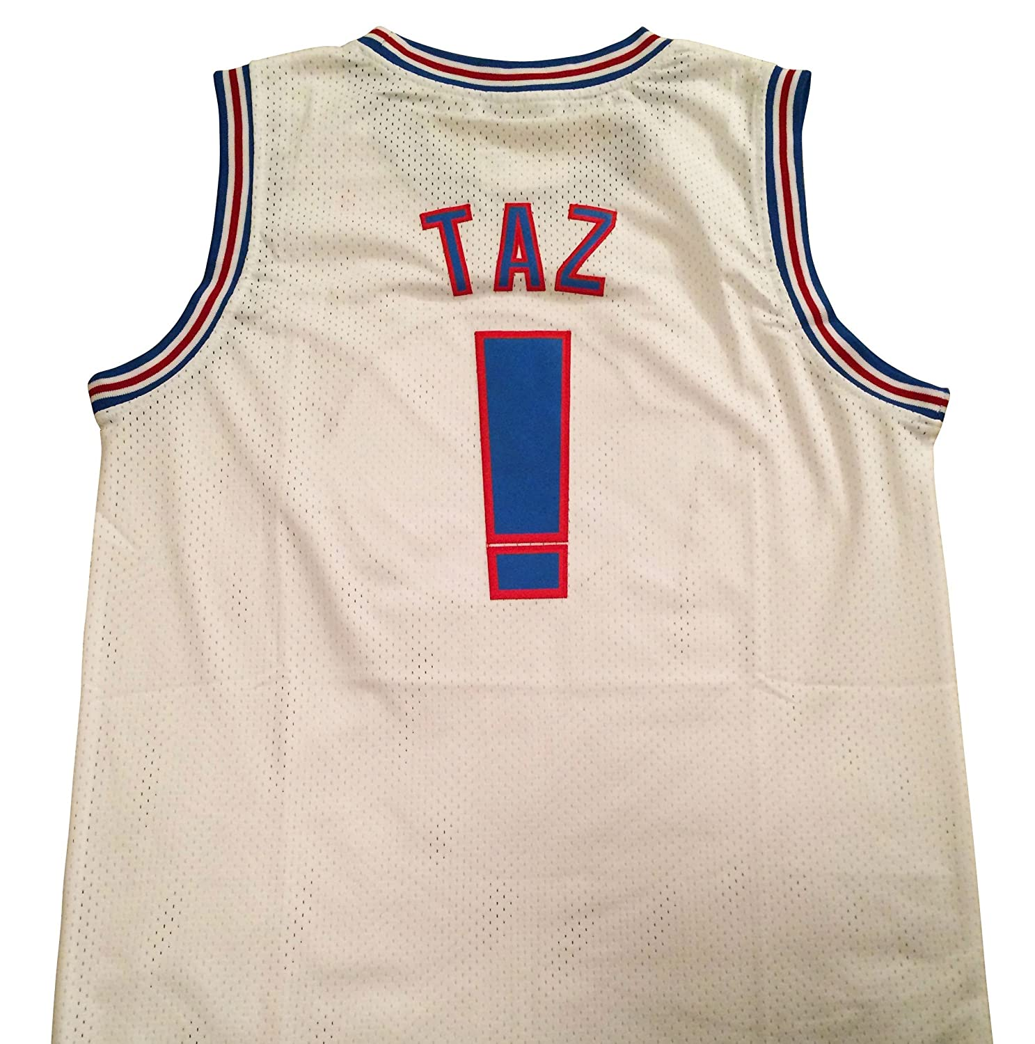 Taz Space Jam Jersey - ! Tune Squad - White (XX-Large) by space jam
