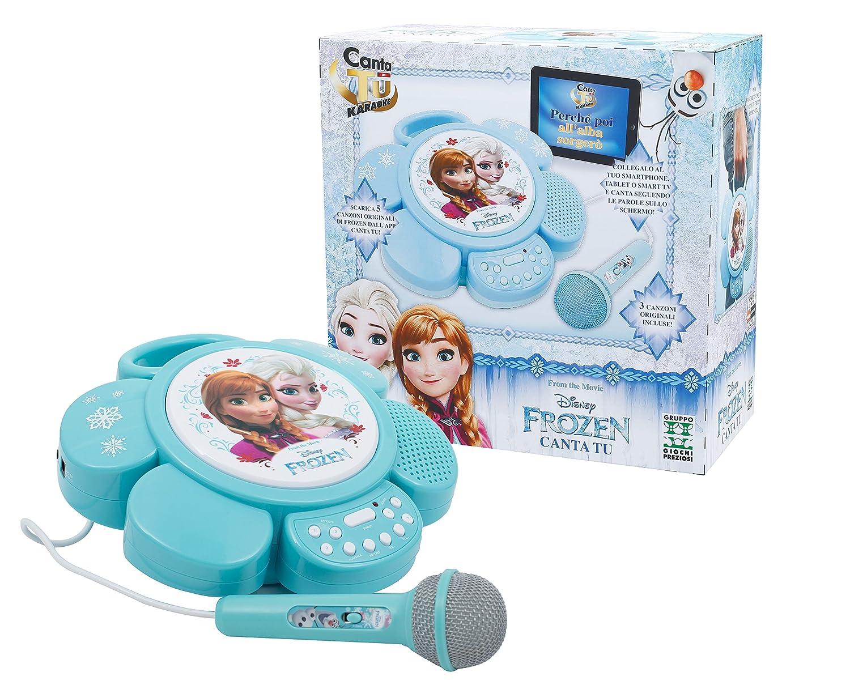 Karaoke Linea Gig Canta Tu Portatile Frozen Ctf01000 Amazonde