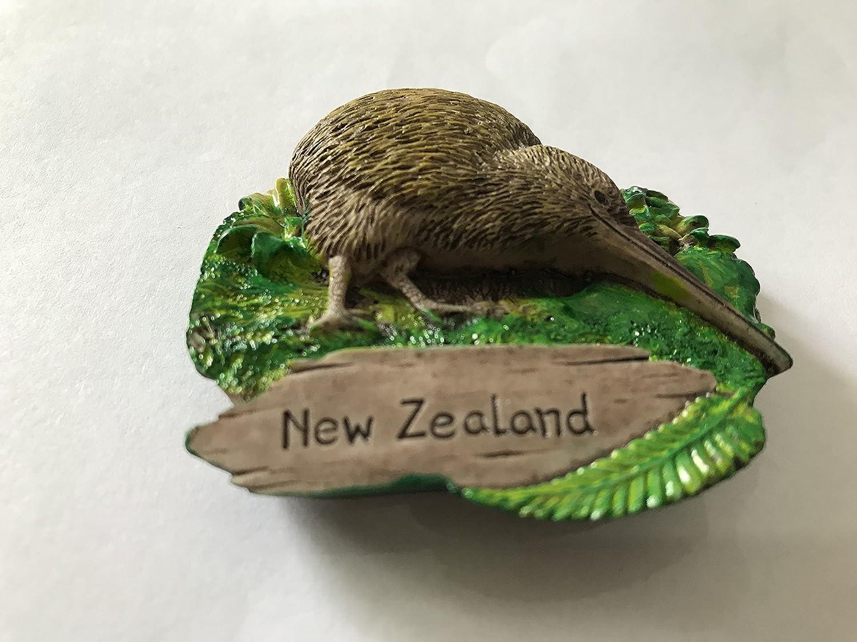 fabriqu/é /à la main Creative R/ésine D/écoration de la Maison New Zealand Tourist Attraction souvenirs Kiwi Bird 3d Aimant de r/éfrig/érateur