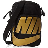 Nike Mens Messenger Bags, Black/Gold - Ba6344-011