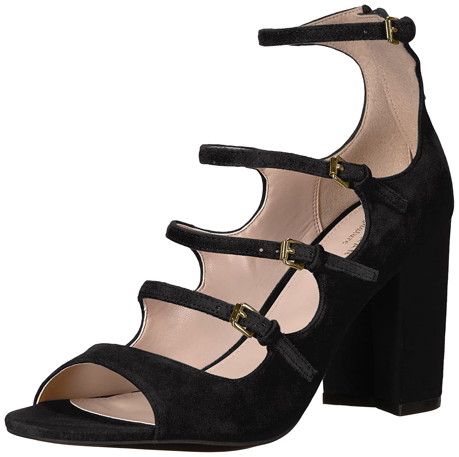 Cole Haan Women's Cielo High B(M) Dress Sandal B01N700CI0 7.5 B(M) High US|Black e27251