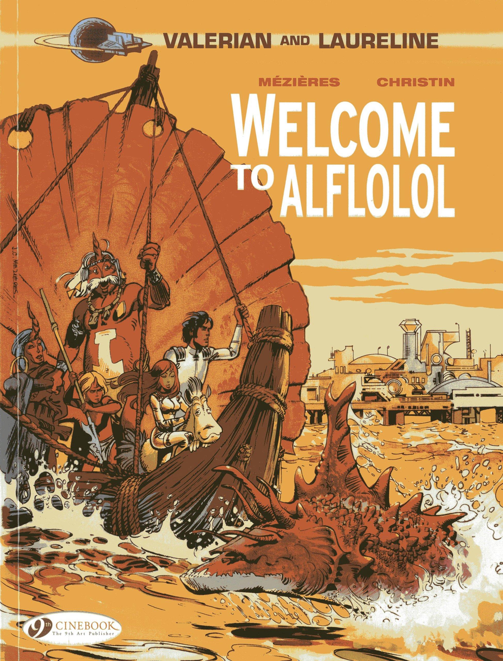 Welcome to Alflolol (Valerian & Laureline) pdf