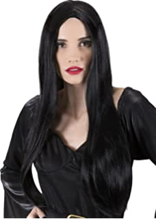 Fun Shack Womens Long Hair Wigs Adults Straight Blonde Black Brunette Costume Accessories