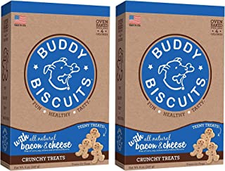 product image for Cloud Star Wag More Bark Less All-Natural Oven Baked Itty Bitty Biscuits - Free of Corn, Soy, Artificial Flavors & Colors - 8 oz Boxes