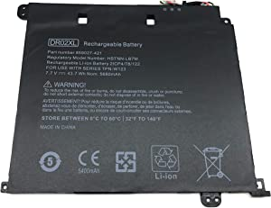 Aluo DR02XL 7.7V43.7WH Replacement Laptop Battery for HP Chromebook 11 G5 Series 859027-121 859027-421 859027-1C1 859357-855