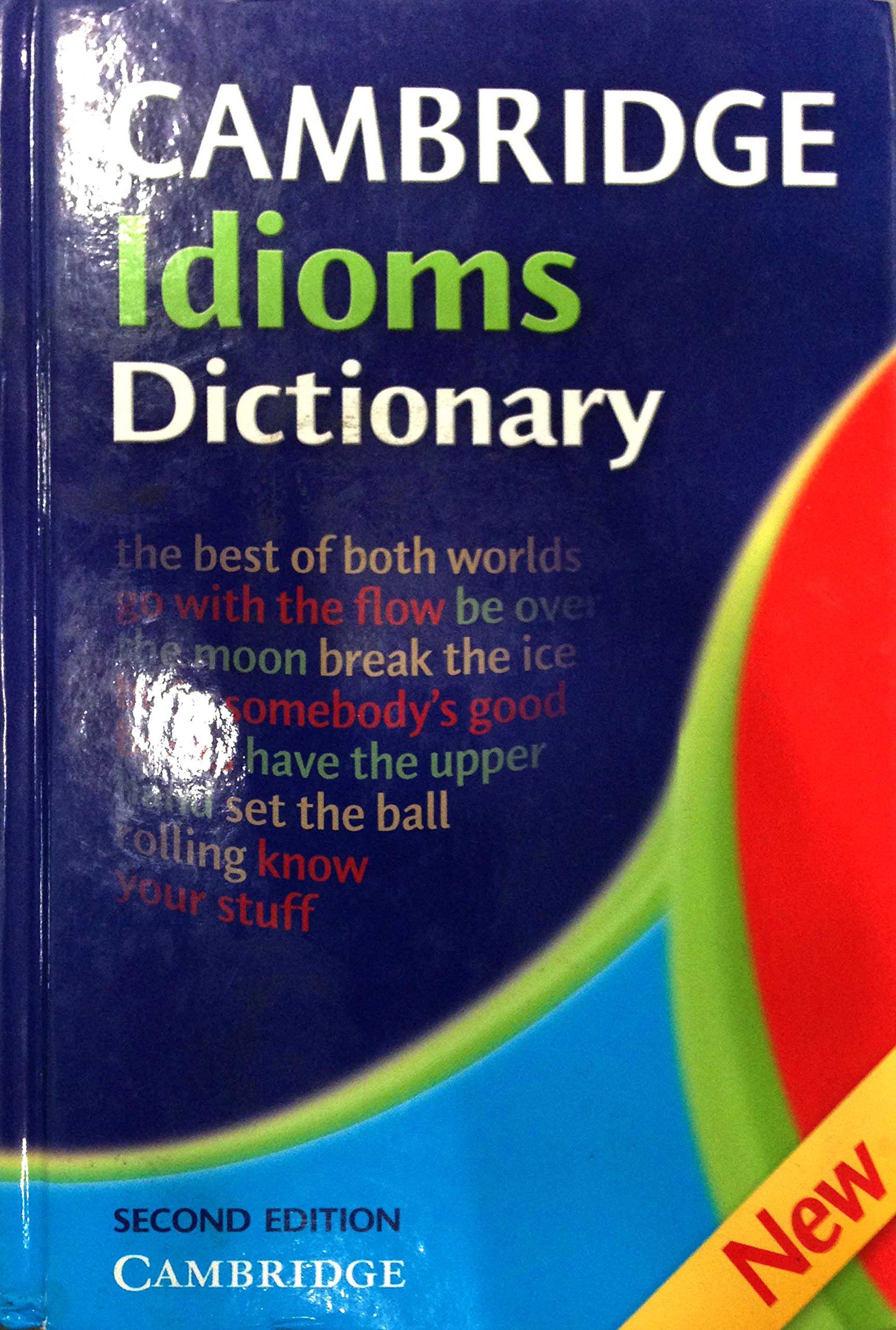 Cambridge Idioms Dictionary  Walter, Elizabeth Amazon.de Bücher
