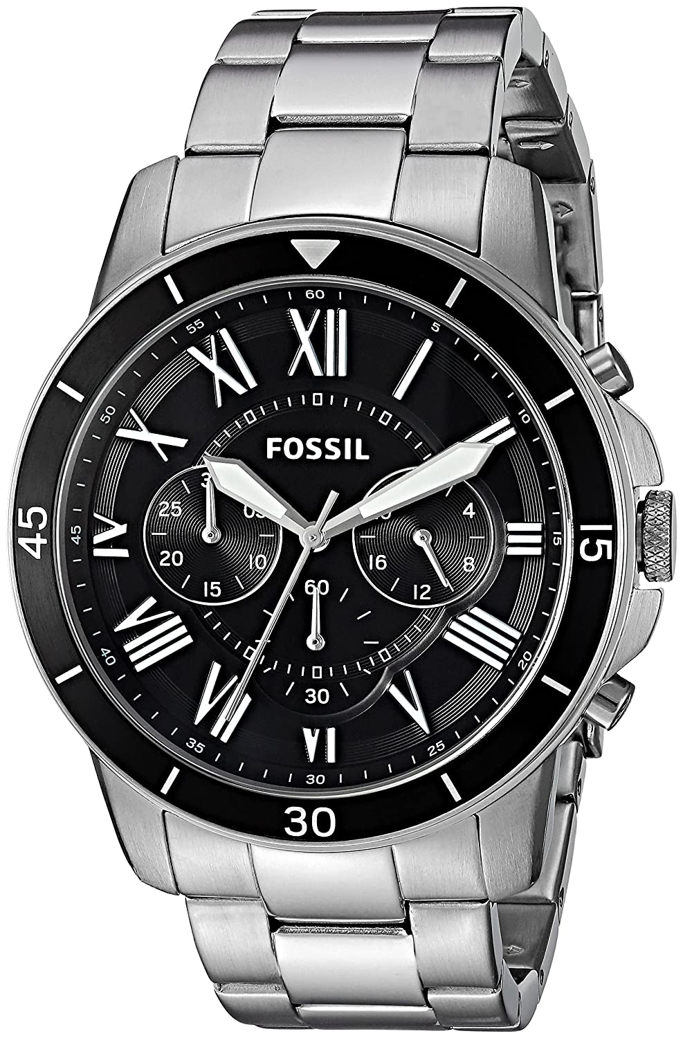Buy Fossil Analog Black Dial Mens Watch Fs5236 Online At Low Fs4736 Prices In India