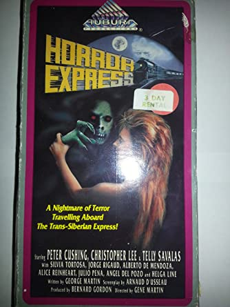 Amazon.com: Horror Express [VHS]: Christopher Lee, Peter ...