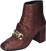 ELVIO ZANON Boots Womens Leather Brown