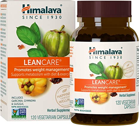 Amazon Com Himalaya Leancare With Garcinia Cambogia For Weight