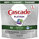 Cascade Detergente Para Máquina Lavavajillas Cascade Platinum Actionpacs, Aroma Fresco, 11 Unidades, color N/A, 11 count, pac