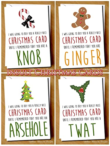 Awkward rude insulting christmas greeting card mum dad best friend awkward rude insulting christmas greeting card mum dad best friend sister work colleague auntie uncle brother m4hsunfo