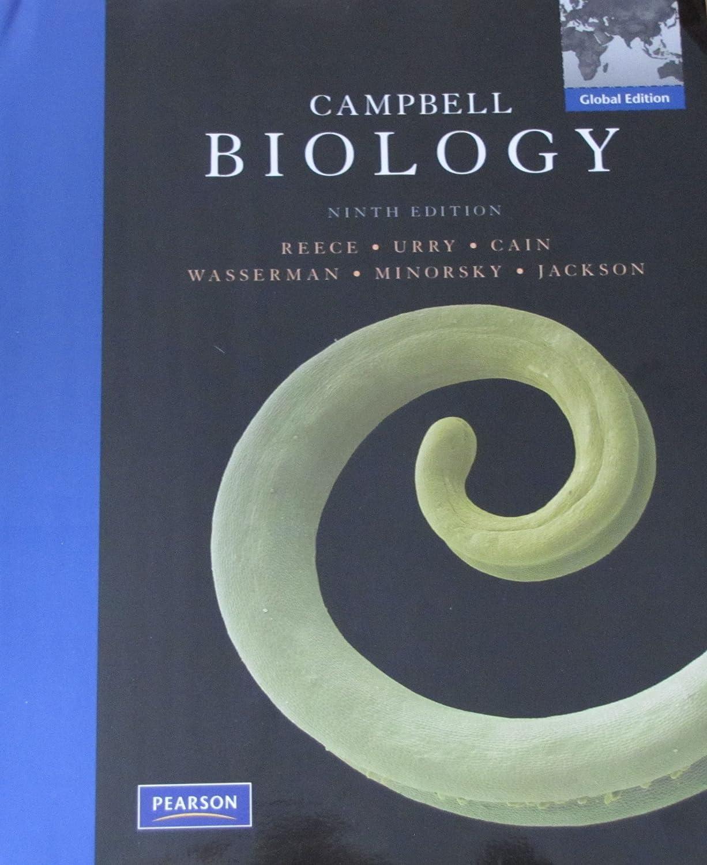 Amazon.com: Campbell Biology (9th Edition): Jane B. Reece, Lisa A. Urry,  Michael L. Cain, Steven A. Wasserman, Peter V. Minorsky, Robert B. Jackson:  Health ...