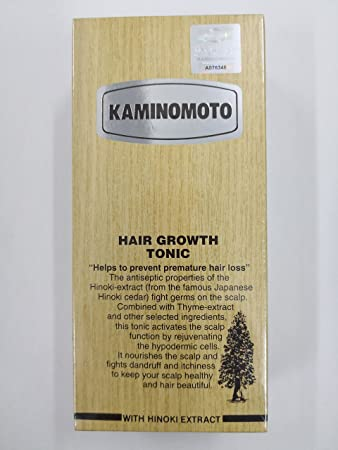 Amazon Kaminomoto Hair Growth Tonic Silver Japan Bestseller