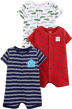Simple Joys by Carter's Mameluco con Cierre a presión Bebé-Niños