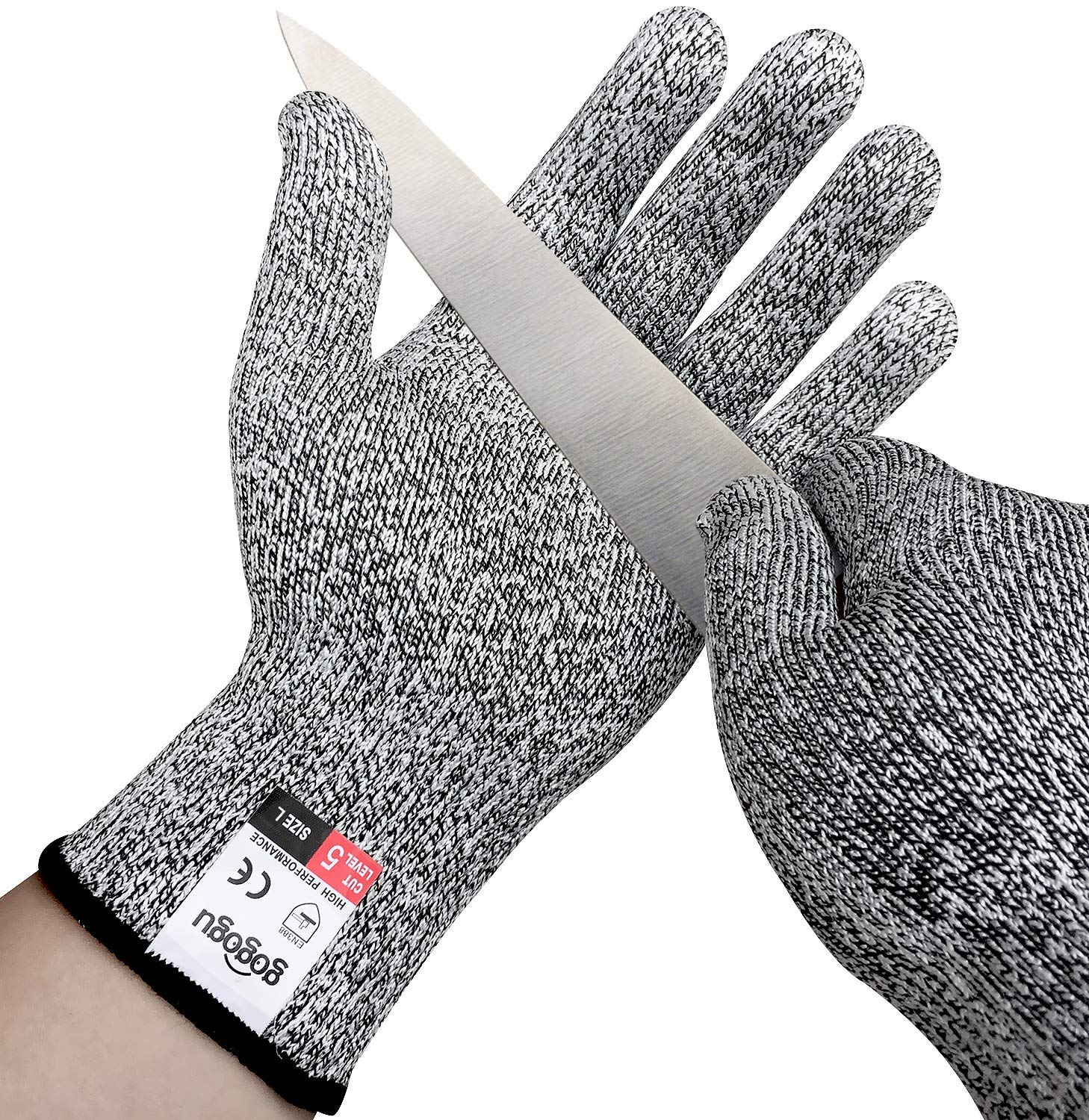 or XL L Stark Safe Level 5 Protection Cut Resistant Kitchen Chef Gloves S M