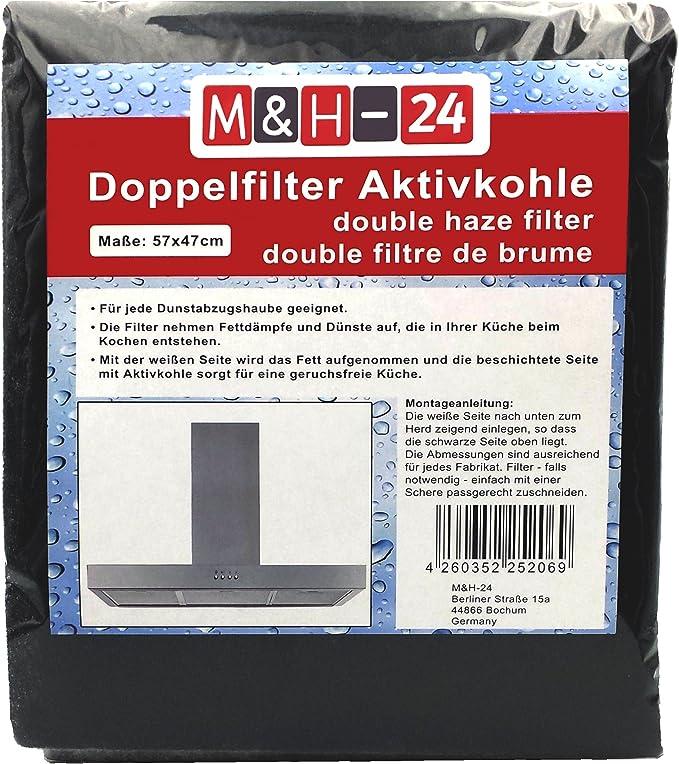 2 x Universal Fettfilter Dunstabzugshaube Dunstfilter Fettfilter zuschneidbar