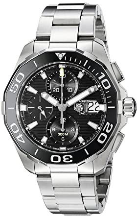cd1b202f259 Amazon.com  TAG Heuer Men s CAY211A.BA0927 Aquaracr Analog Display ...