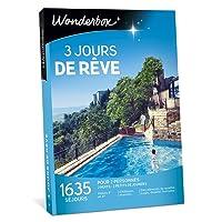 WONDERBOX - Coffret cadeau - 3 JOURS DE RÊVE