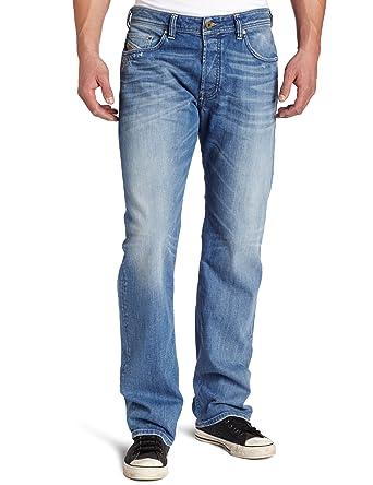 25a04e96 Diesel Men's Larkee Relaxed Regular Straight-Leg Jean 008W7, Denim, 28x30