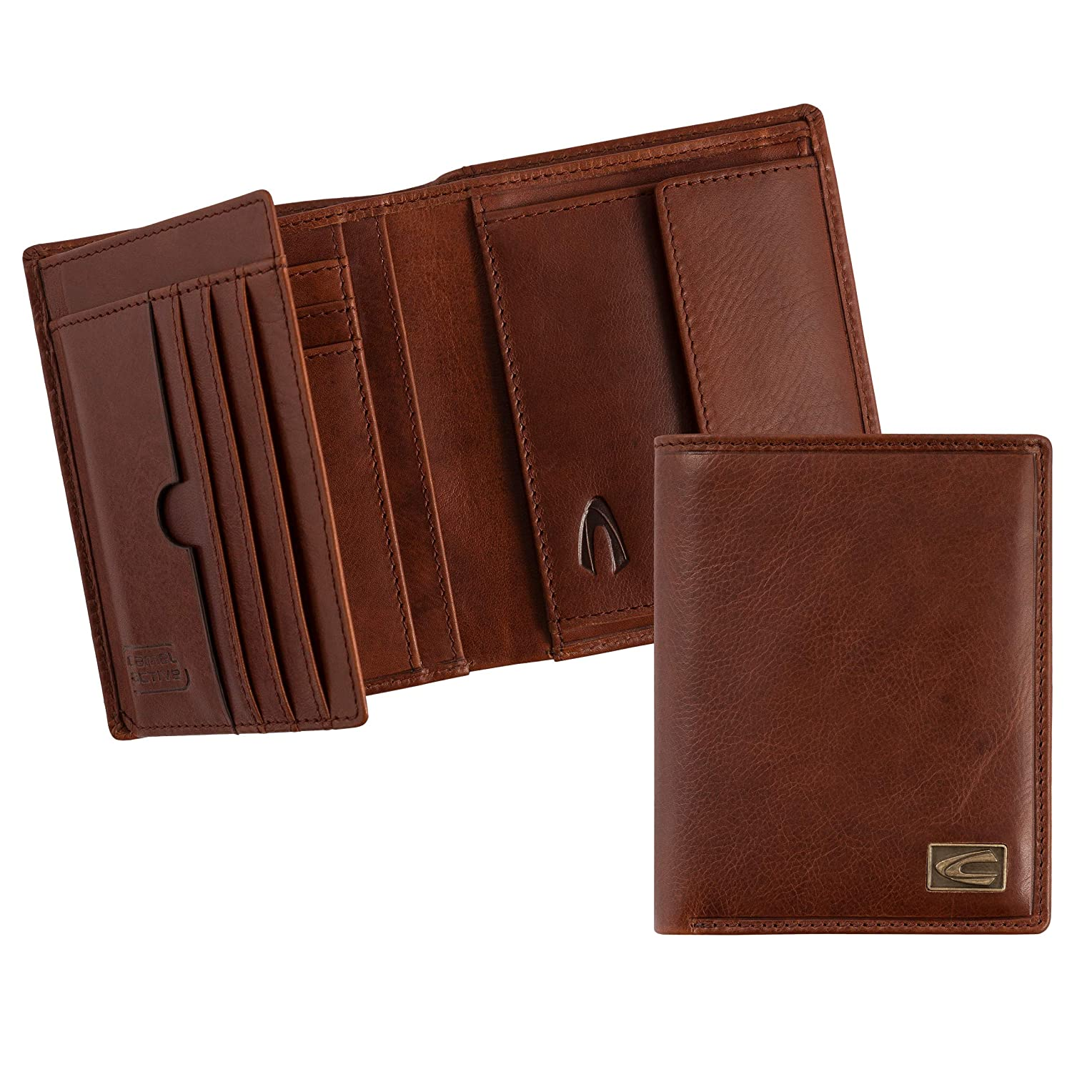 camel active Monedero, coñac (Marrón) - 276 703: Amazon.es ...