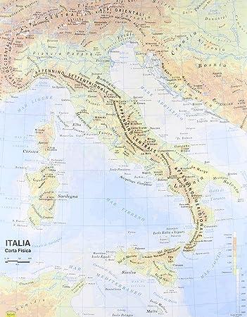 Cartina Italia 800.Carta Geografica Italia 1 800 000 Aa Vv Amazon It Cancelleria E Prodotti Per Ufficio
