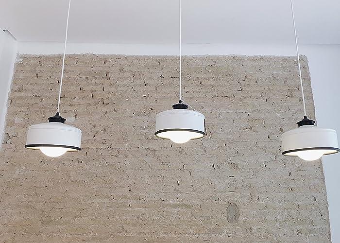 ☆ 3 Lámparas de techo de botes de café ☆, hechas a mano ...