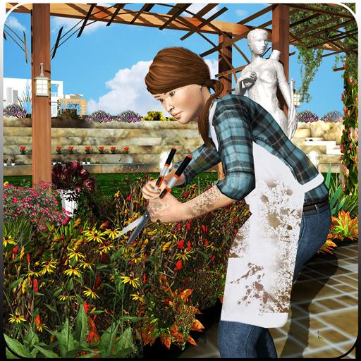 3D Virtual Casa Jardín Juegos Jardinería Scapes Familia Juego ...