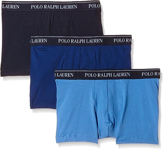 TALLA 4 (Gr. Small). Ralph Lauren - Pack x 3 Bóxers para hombre