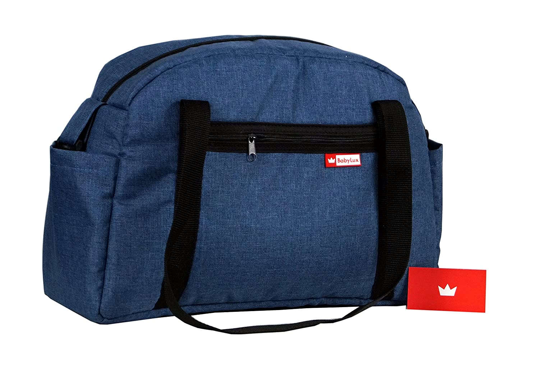 CandyFlex Blau BabyLux Wickeltasche CANDY FLEX Kinderwagentasche Baby Windel Tasche Pflegetasche