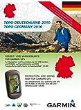 Garmin Topo Deutschland Süd 2010 - Freizeit- und Wanderkarte für GPS Geräte auf DVD und microSD