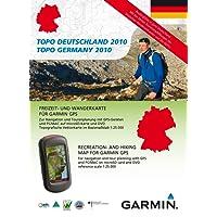 Garmin Topo Deutschland 2010 Gesamt - Freizeit- und Wanderkarte für GPS Geräte auf DVD und microSD