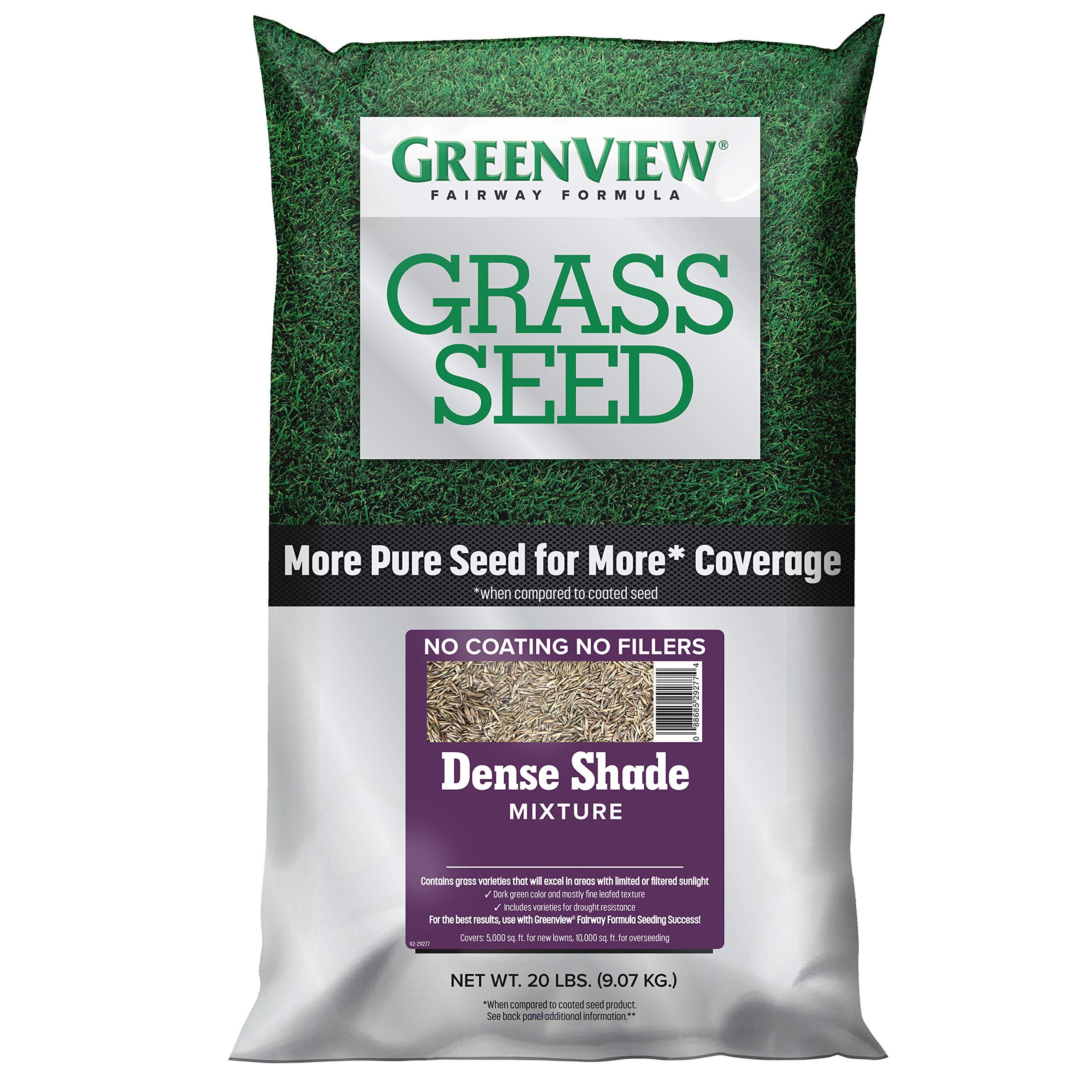 GreenView 2829344 Fairway Formula Grass Seed Dense Shade Mixture, 20 lb. by GreenView