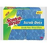Scotch-Brite Scrub Dots Non-Scratch Scrub Sponge, 6 Count