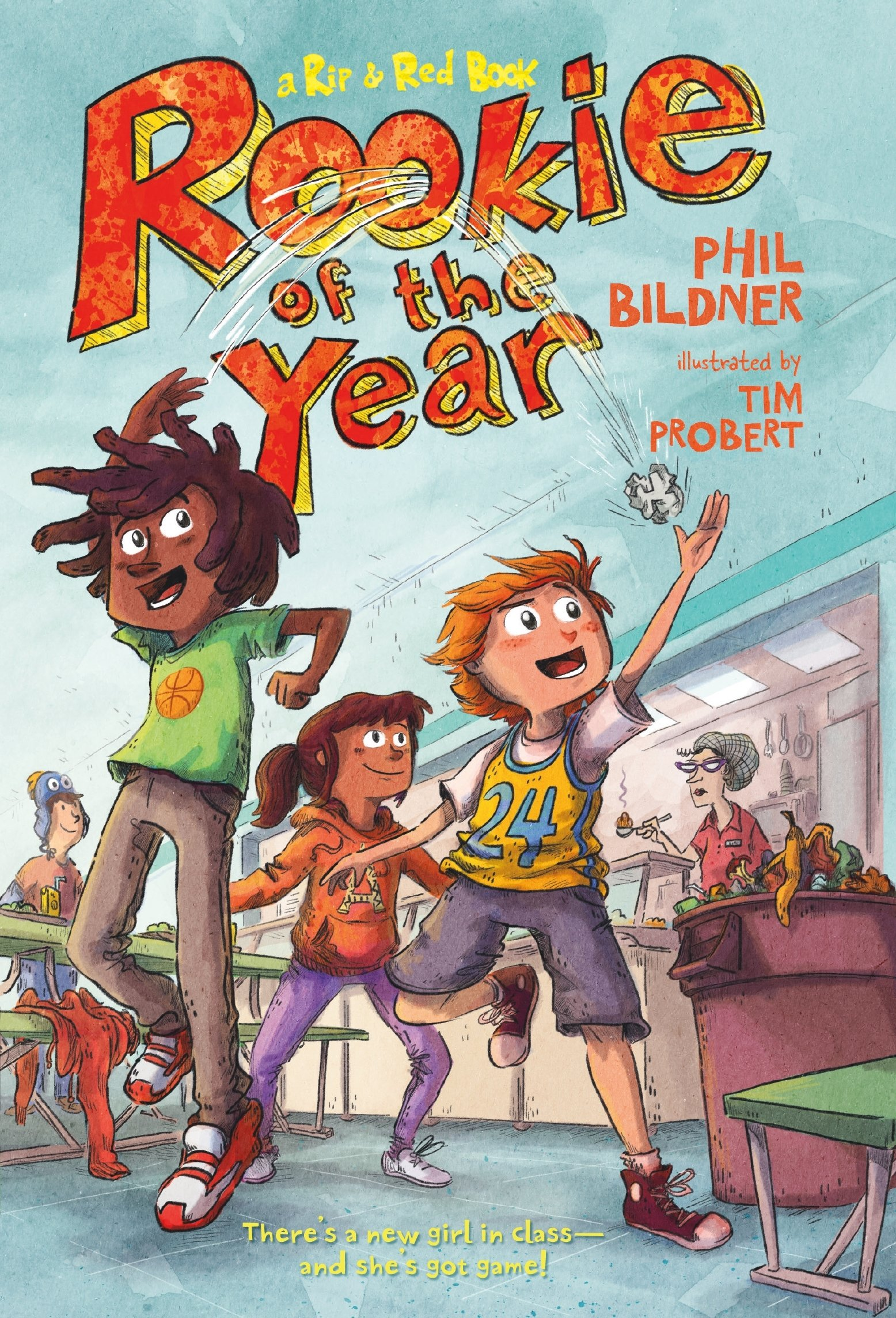Rookie of the Year (Rip and Red): Phil Bildner, Tim Probert: 9781250115188:  Amazon.com: Books