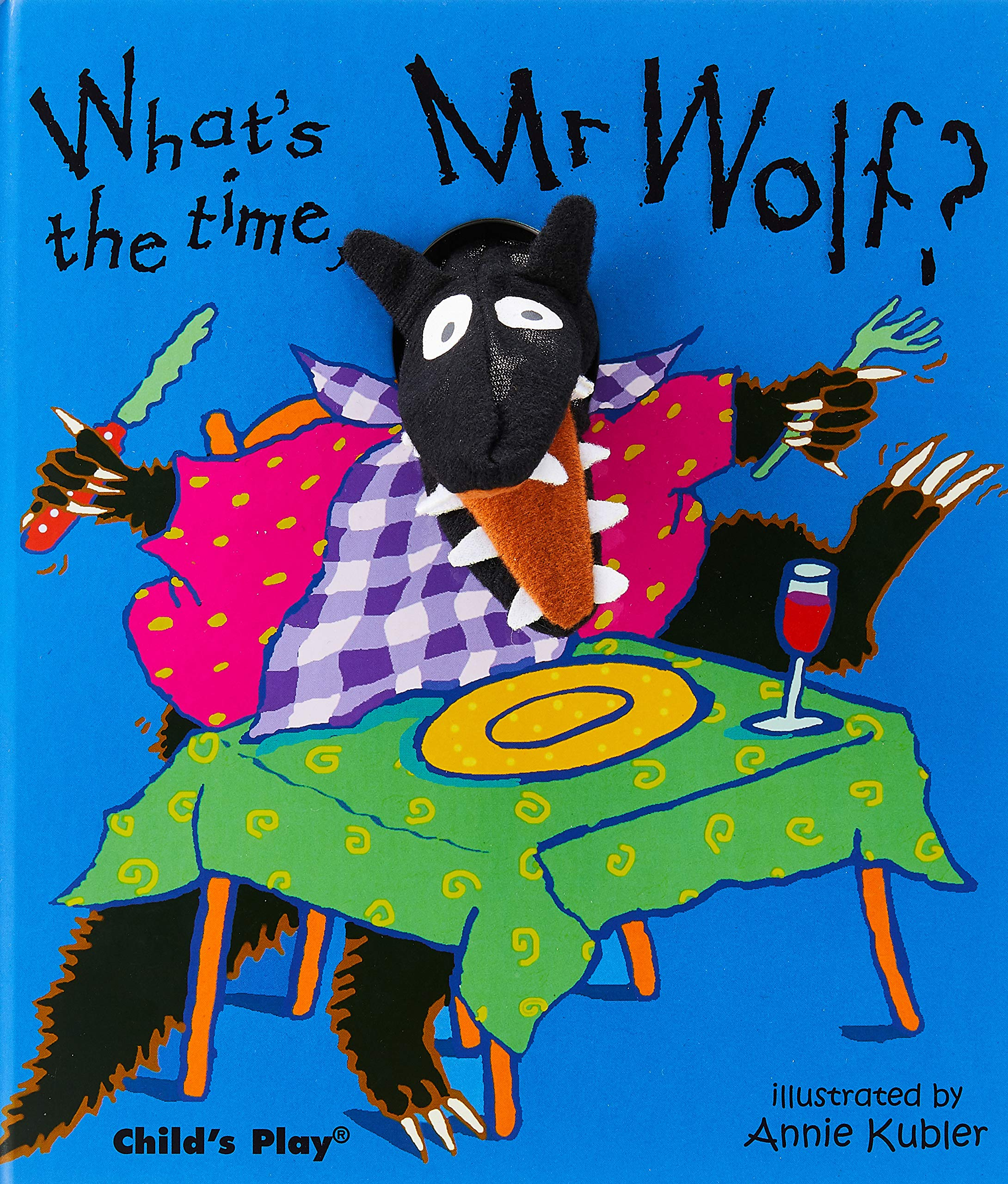 What's the Time Mr Wolf? (Finger Puppet Books)
