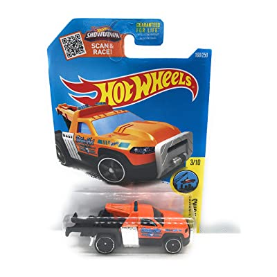 Hot Wheels 2016 HW City Works Repo Duty (Tow Truck) 168/250, Orange (Treasure Hunt): Toys & Games
